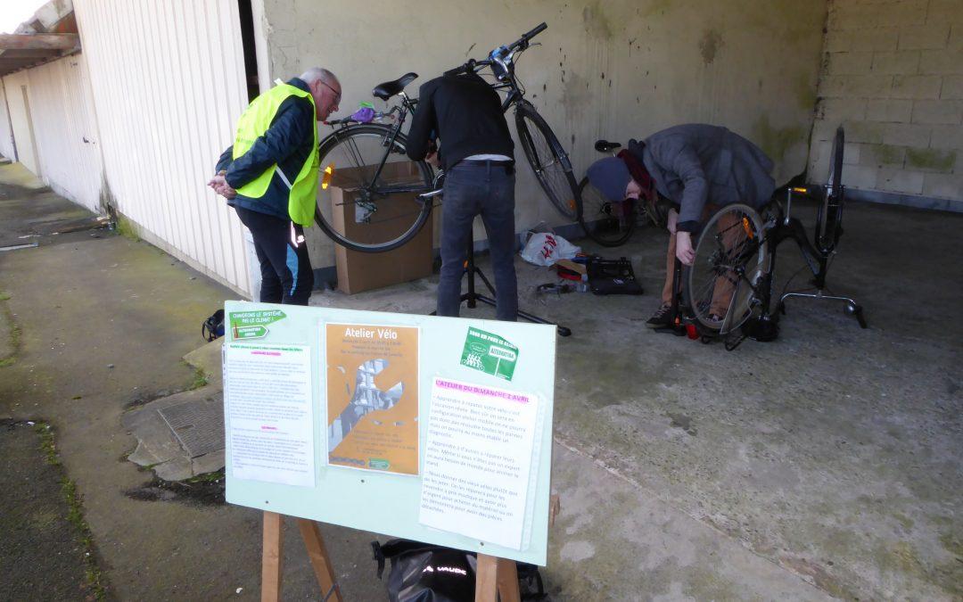Atelier vélo le premier dimanche de chaque mois